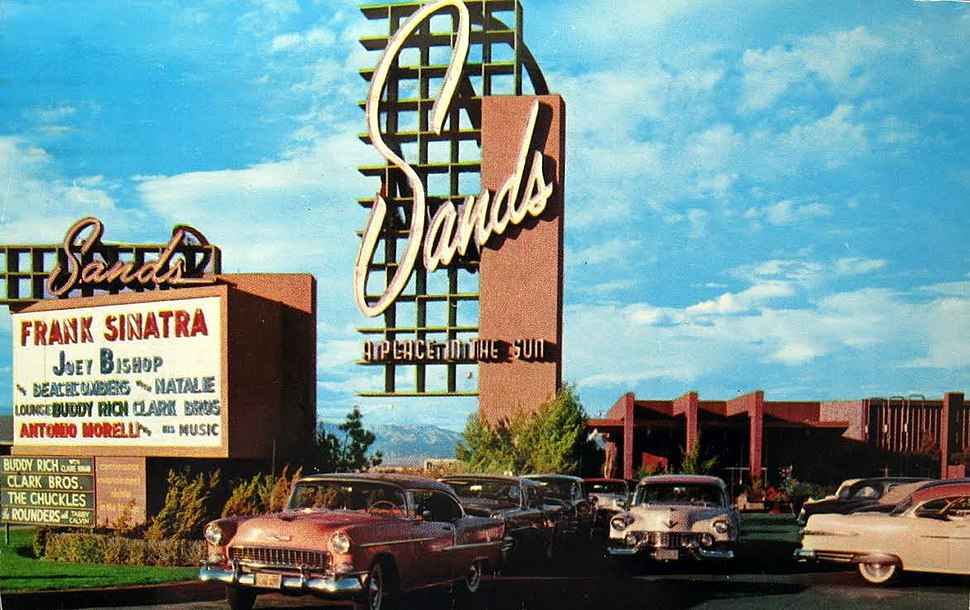 The Sands Hotel and Casino in 1959