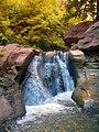The Second Large Waterfall in Kanarra Canyon DyeClan.com - panoramio (1).jpg