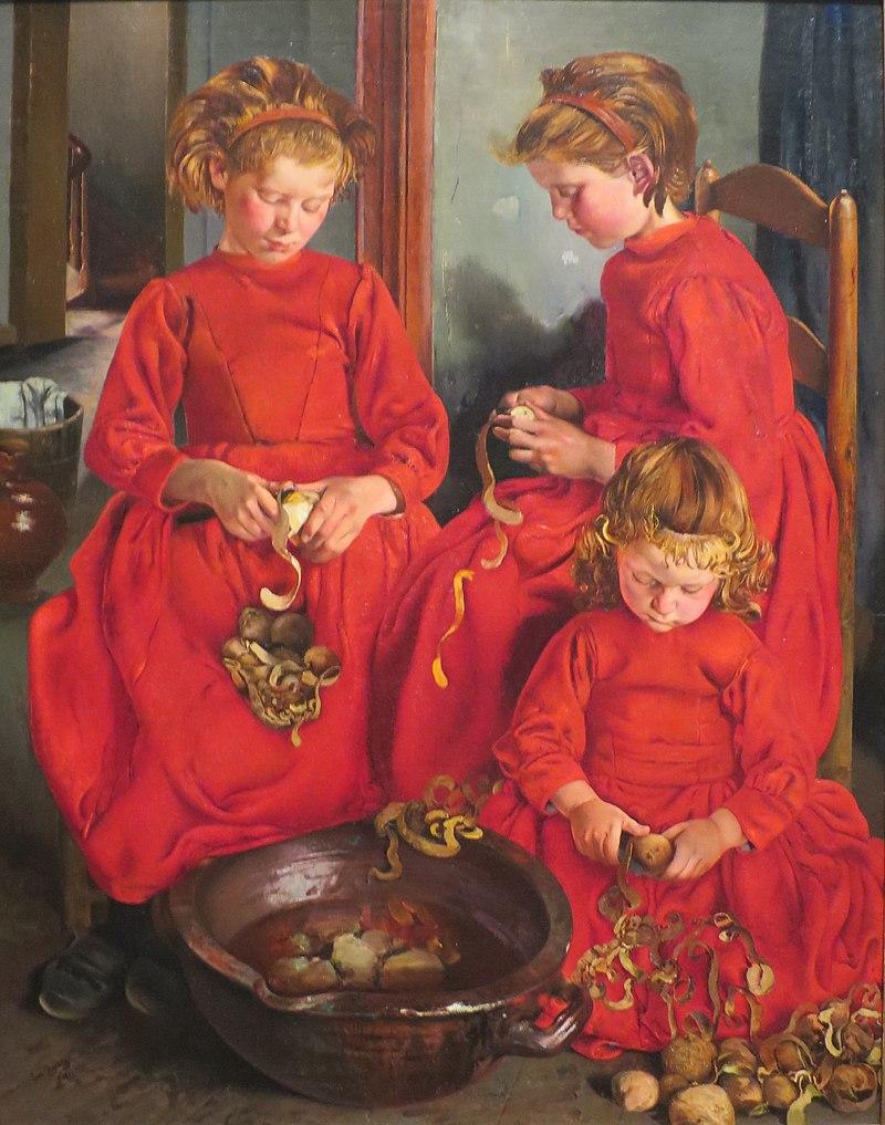 The Three Sisters by Léon Frédéric, 1896.JPG