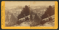 The Vernal and Nevada Falls, from Glacier Point, Yosemite Valley, Mariposa County, Cal, by Watkins, Carleton E., 1829-1916 2.png