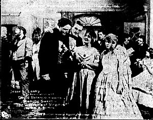 The Warrens of Virginia (1915 film) - Scene from the film.