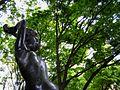 The bronze statue(Jouzenji-dori Avenue).JPG