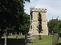 The churchyard of St Margaret's and the Curfew Tower - geograph.org.uk - 912686.jpg