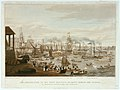 The embarkation of his most Gracious Majesty George the Fourth at Greenwich, August 10th, 1822 for Scotland. Lord Mayor's Barge, Royal George, Royal Sovereign. The James Watts Steam Boat.jpg