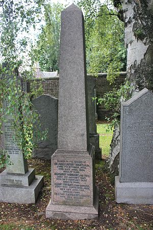 James Lawton Wingate - The grave of Sir James Lawton Wingate, Grange Cemetery, Edinburgh