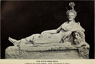 Attis - Image: The great mother of the gods (1901) (14594571307)