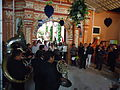 The music band in the church of San Simon Texcoco.JPG