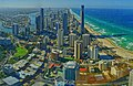 The northwards panorama of Gold Coast taken from Q1 Skypoint on Mar 13, 2019.jpeg
