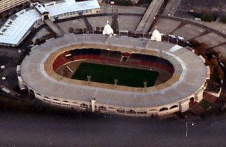 Wembley Stadium (1923) - Aerial view of Wembley Stadium, 1991.