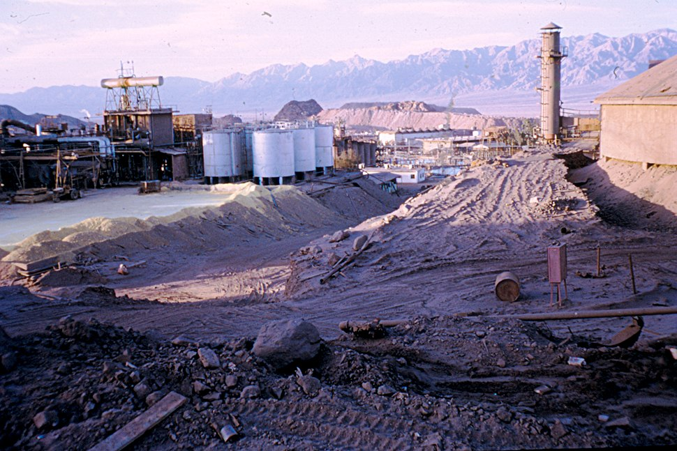 The old mine a Timna