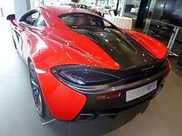 The rearview of McLaren 540C COUPE.JPG