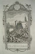 """The siege of Diu by the """"Arabians"""