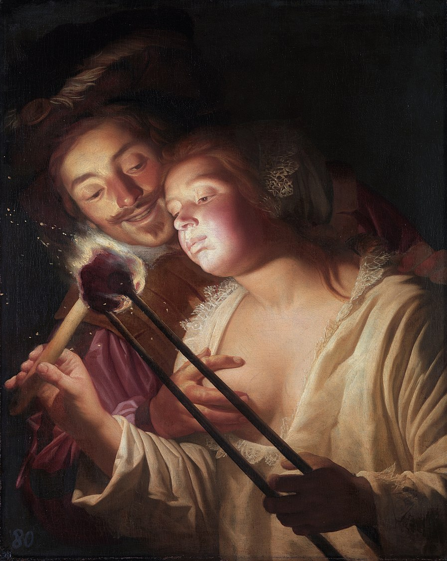 The soldier and the girl, by Gerard van Honthorst.jpg
