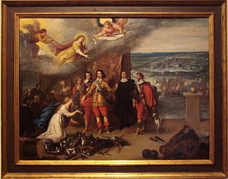 Siege of La Rochelle - The surrender of La Rochelle, 17th century.