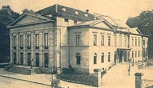 Meiningen Court Orchestra - Meiningen theatre, rebuilt in 1908