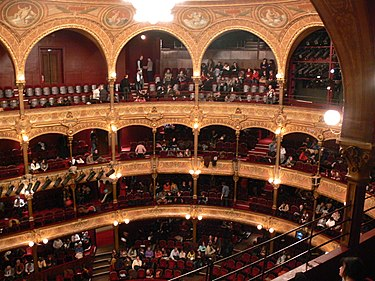 Auditorium of the Theatre du Chatelet, 2008 Theatre du Chatelet 1.jpg