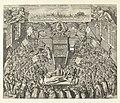 Theatrum anatomicum van Leidse Academie, 1609 Amphitheatrum Anatomicum Luduno Batavorum (titel op object), RP-P-1887-A-12041.jpg