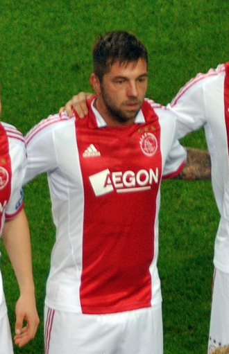 Theo Janssen - Janssen lining up for Ajax, September 2011.