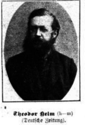 Theodor Helm - Theodor Helm in 1897