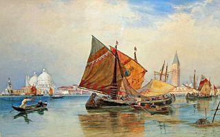 Thomas Bush Hardy British marine painter and watercolourist