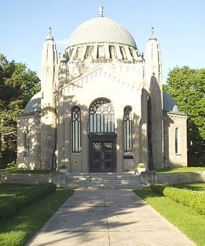 Thomas Foster (Canadian politician) - Thomas Foster Memorial Temple.