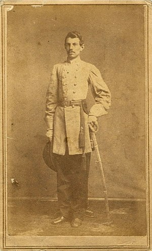 Thomas G. Jones - Governor Jones in his Confederate Army uniform