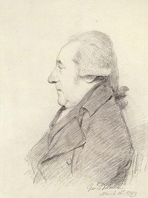 Thomas Hull (actor) - Thomas Hull, 1799 drawing