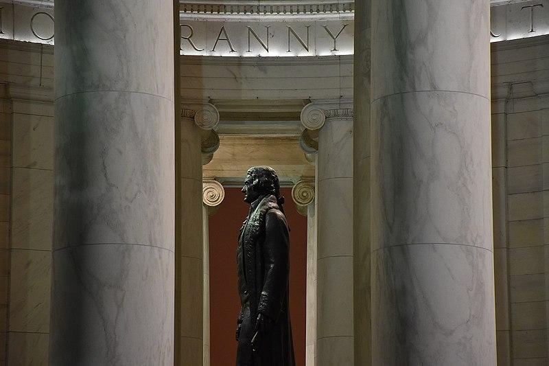 File:Thomas Jefferson Statue side background tyranny quote.jpg