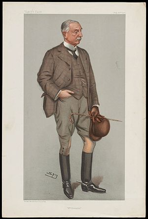 "Thomas Kelly-Kenny - ""6th Division"". Caricature by Spy published in Vanity Fair in 1901."