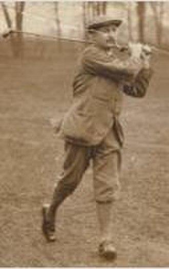 Thomas Renouf - Image: Thomas Renouf, golfer circa 1901