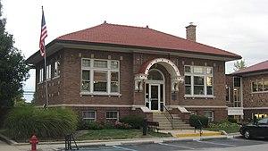 Thorntown Public Library - Thorntown Public Library, September 2011