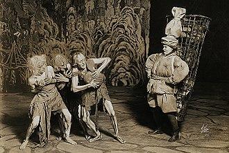 Till Eulenspiegel's Merry Pranks - Scene from the ballet Till Eulenspiegel, Manhattan Opera House, New York