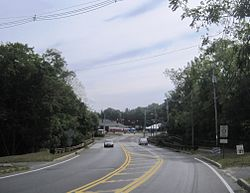 Center of Tinton Falls
