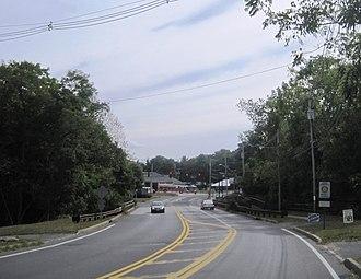 Tinton Falls, New Jersey - Center of Tinton Falls