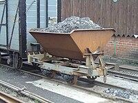 Tipper wagon on Talyllyn Railway - 2008-03-18.jpg