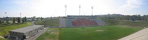 Titan Stadium (Cal State Fullerton) - Image: Titanstadium pano