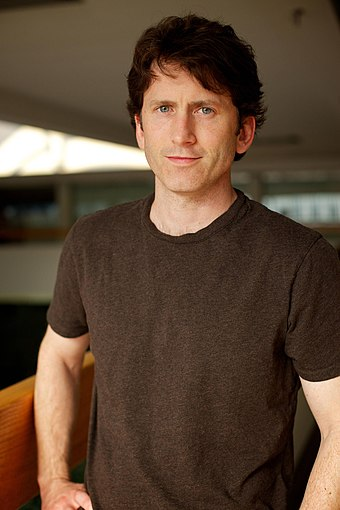 Todd Howard, game director of both Fallout 4 and Fallout 3, in 2010 ToddHoward2010sm.jpg