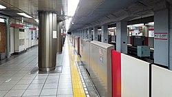 TokyoMetro-M19-Awajicho-station-platform-20170817-125952.jpg