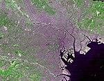 תצלום לוויין של טוקיו רבתי