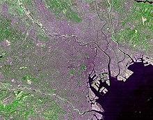 Regi�o Metropolitana de T�quio, no Jap�o � atualmente a maior aglomera��o urbana do mundo.