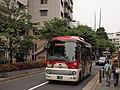 Tokyubus A6731 Hachiko-Bus at Daikan-yama.jpg