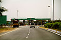 Toll Plaza on Rajasthan Roads India March 2015.jpg