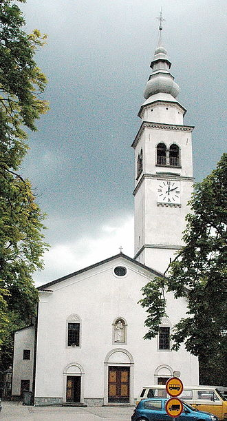 Tolmin - Assumption of Mary Parish Church