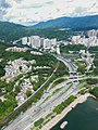 Tolo Highway Tai Po Section Aerial View 2017.jpg
