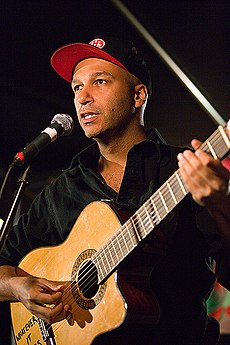 Tom Morello v roku 2006