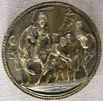 Tomaso di calisto (maestro delle eroiche virtù), morte di re ciro e vendetta della regina tomyris, 1470-1480 circa.JPG