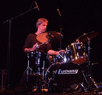 Tony Buck (musician) - Buck performing at the LMC 16th Annual Festival of Experimental Music, Cochrane Theatre London 1 December 2007