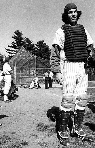 Tony Ridnell - Tony Ridnell as Catcher for Bronxville High School 1974-1978.