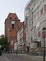 Torun tower of Saint John cathedral from Zeglarska.jpg