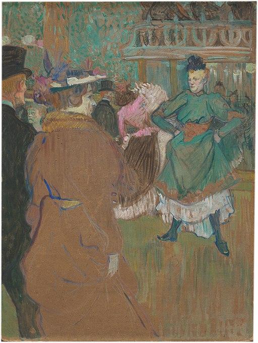 """""""Quadrille at the Moulin Rouge"""" by Henri de Toulouse-Lautrec"""